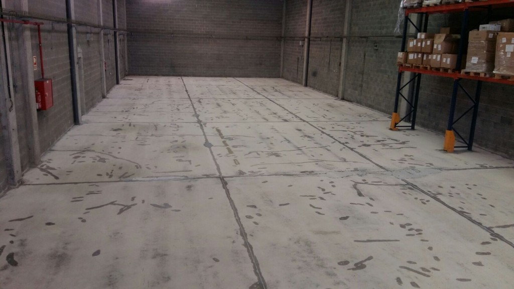 Pintar suelos industriales