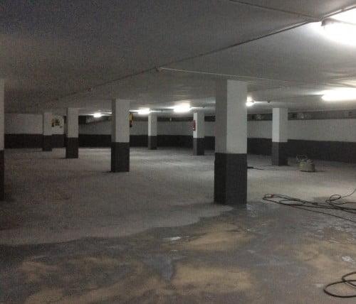 Renovación de suelos industriales